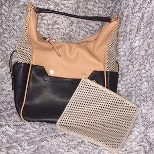 Melie Bianco Vegan Bag with Removable Clutch